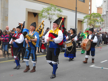 fiestas en Asturias, España