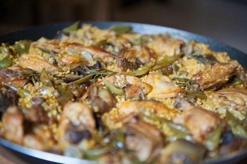 arroz con pitu de caleya