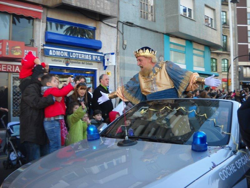 Cabalgata reyes Gijón