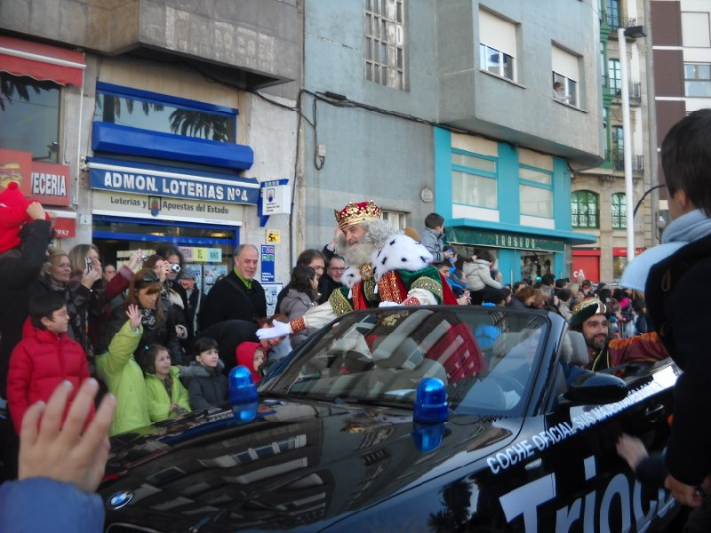 fotos Cabalgata reyes Gijón