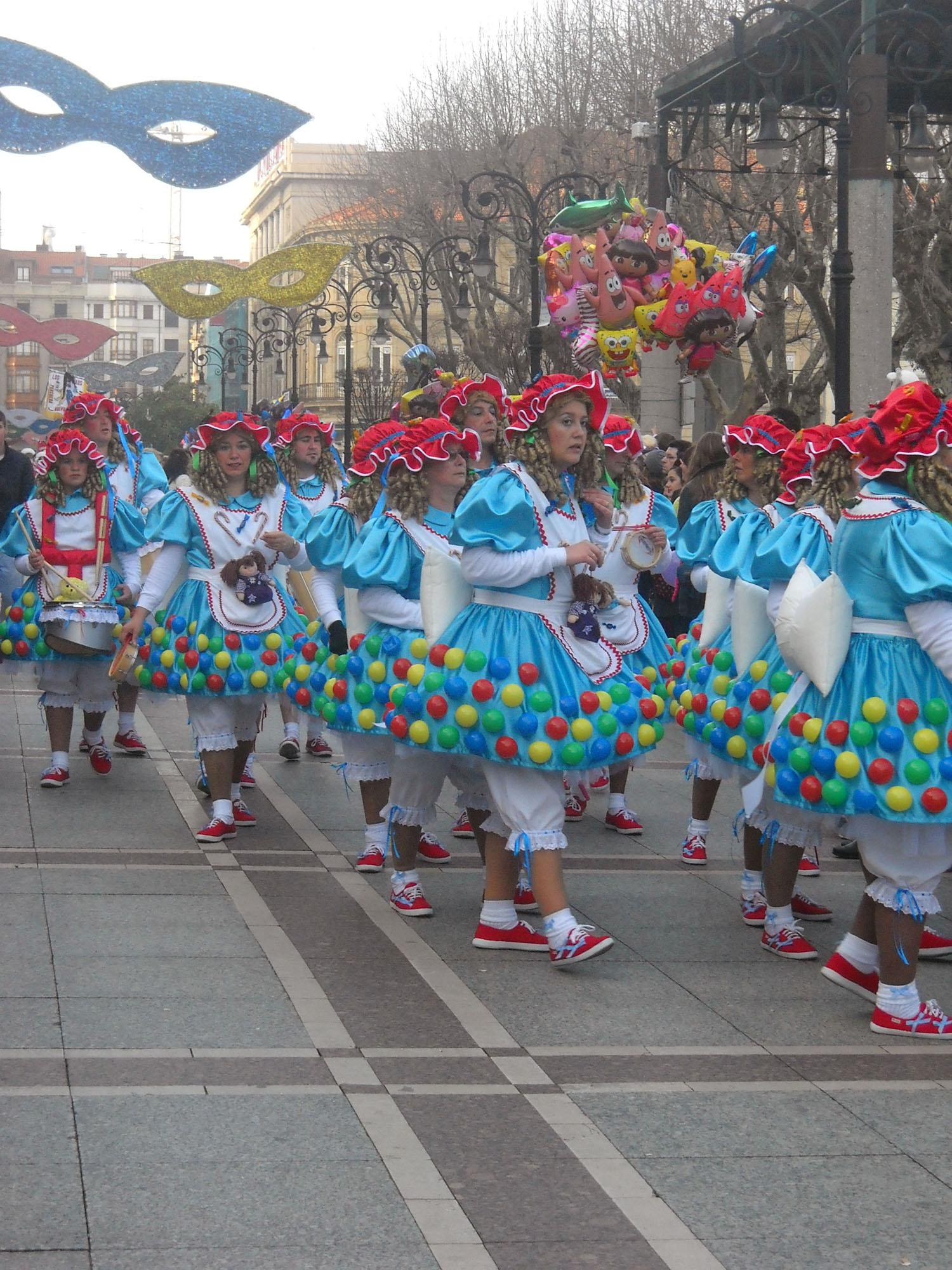 Carnaval en asturias as mbrate con los mil rostros del - Carnaval asturias 2017 ...