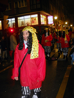 XXV Concurso infantil de disfraces, Gijón