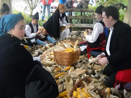 Fiesta en Asturias