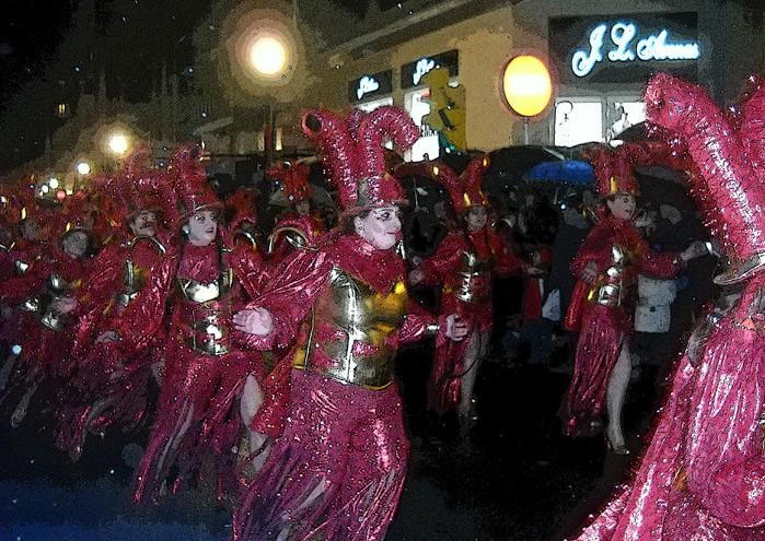 Desfile de Antroxu