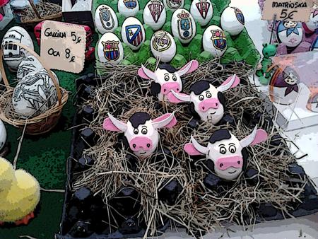 Fiesta Huevos Pintos