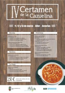 IV Certamen de la Cazuelina en Aller, Asturias de fiesta