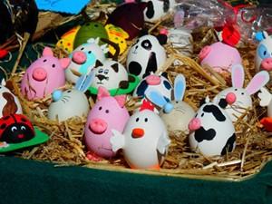 Fiesta de Pascua Huevos Pintos Sama de Langreo – Fiestas en Asturias