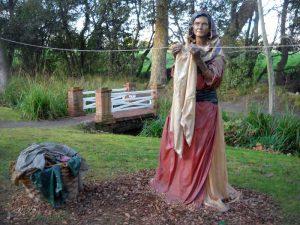 Belén de Navidad en Gjión
