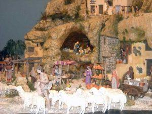 Belén de Navidad en Gijón