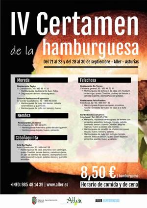 Certamen de la Hamburguesa en Aller