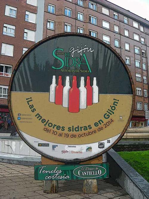Gijón de Sidra