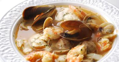 Sopa de Marisco Asturiana