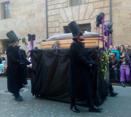Entierro de la Sardina de Oviedo